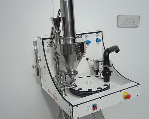 machine remplissage MEN liquide poudre assemblage