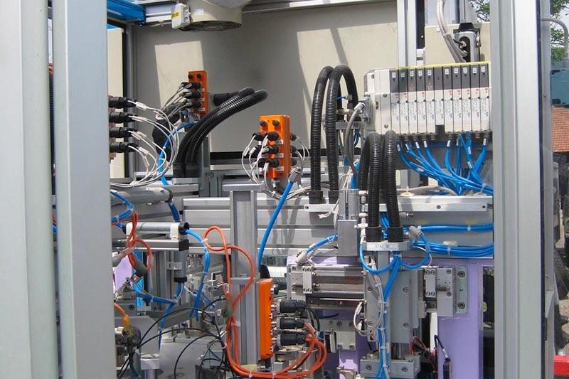 Machine Assemblage Avec Contrôle De Qualité Cablage