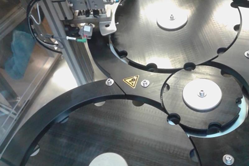 Machine Remplissage Marchesini Pompe Péristaltique
