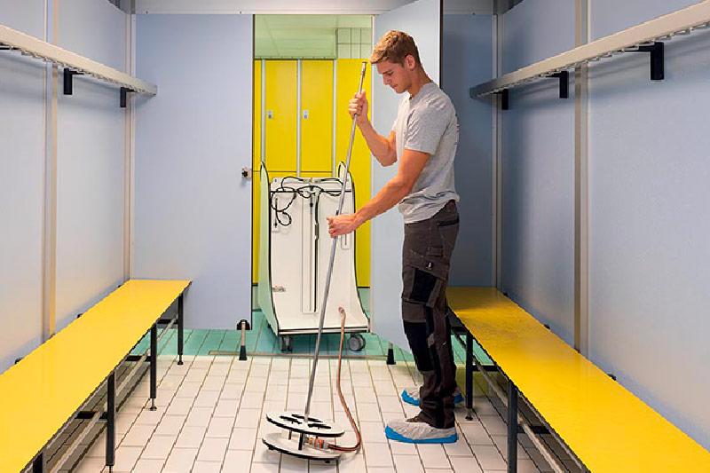 Machine Spécifique Shower Clean JO 1000 Utilisation